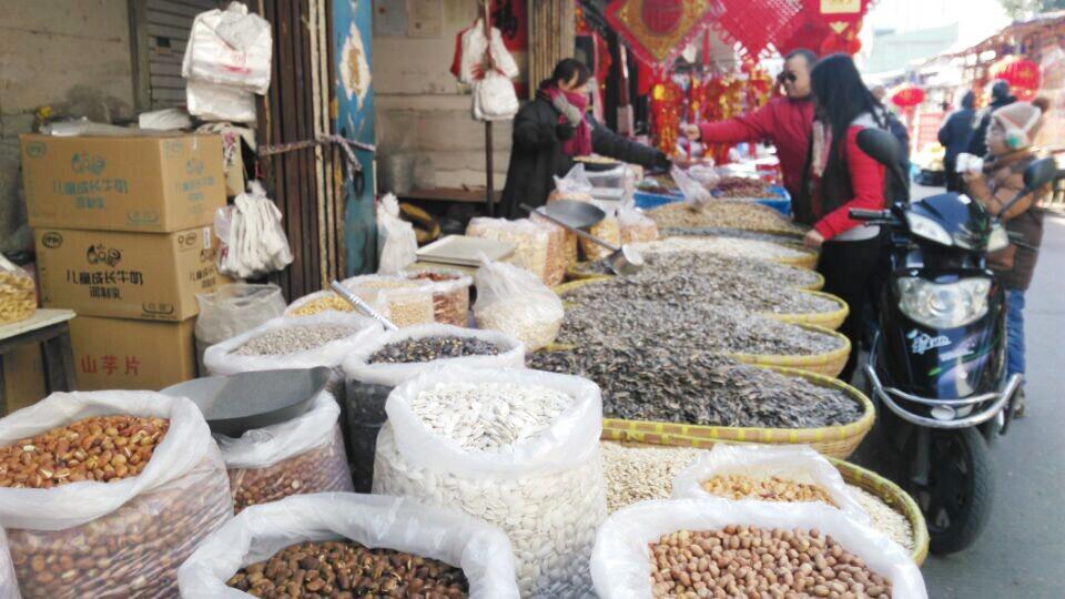 炒货迎最旺季扬州人爱吃的炒货产自这里