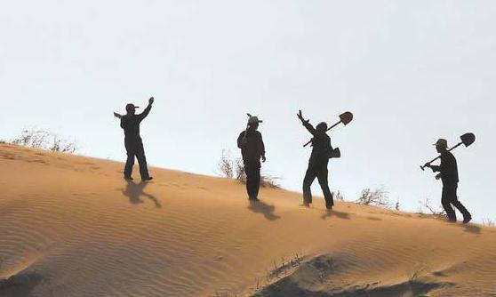 八步沙三代人治沙事迹将拍成电影