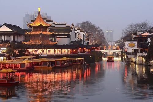 旅游最热城市南京苏州前十热门景区夫子庙第七