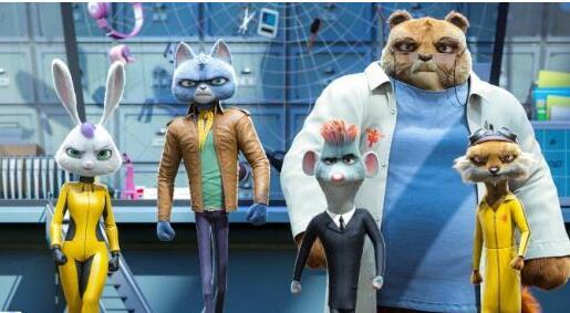 """《动物特工局》将映 推出全新""""猫鼠拍档"""""""