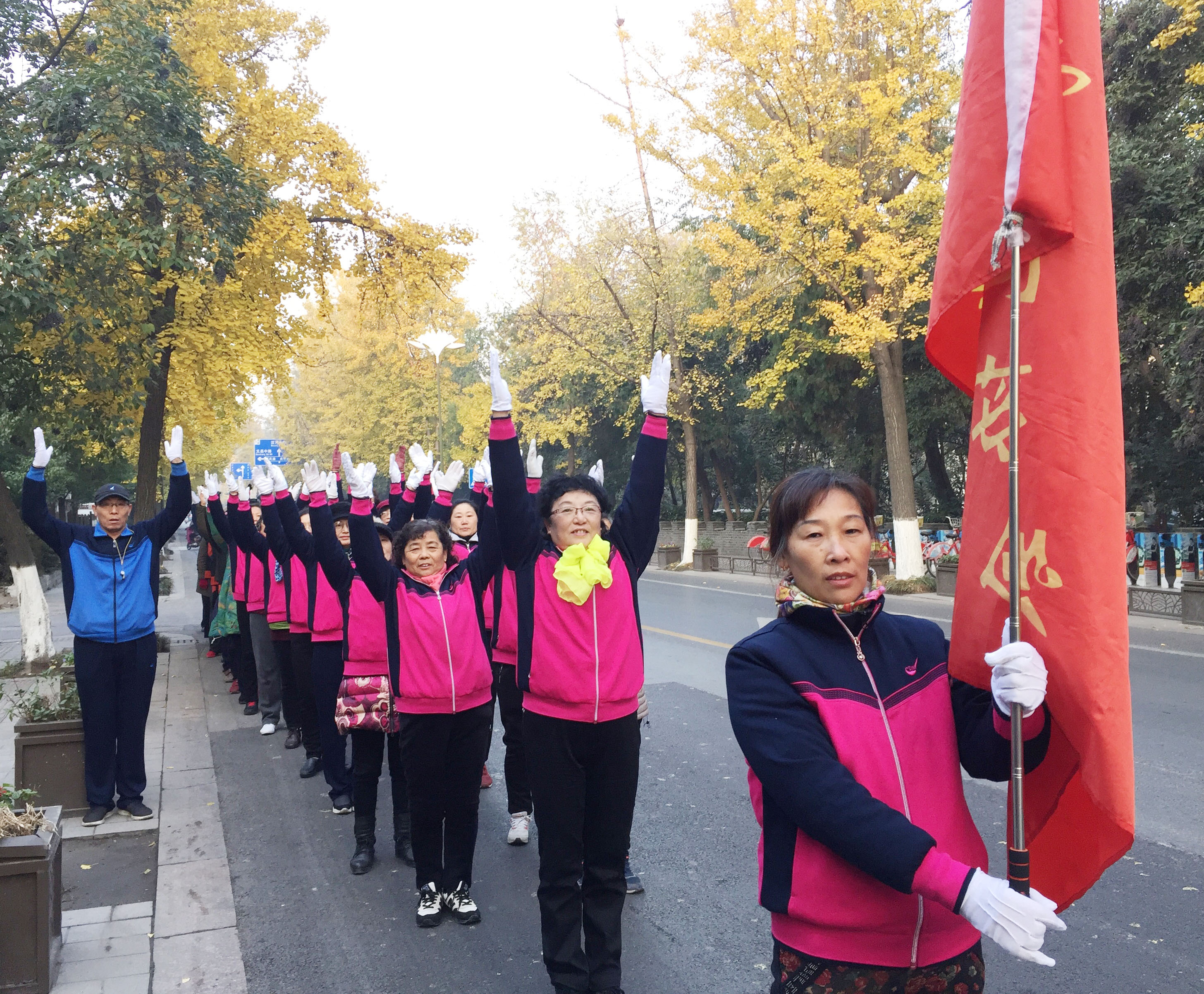 """扬州市长跑协会微马健身团 走出""""妖娆步"""""""
