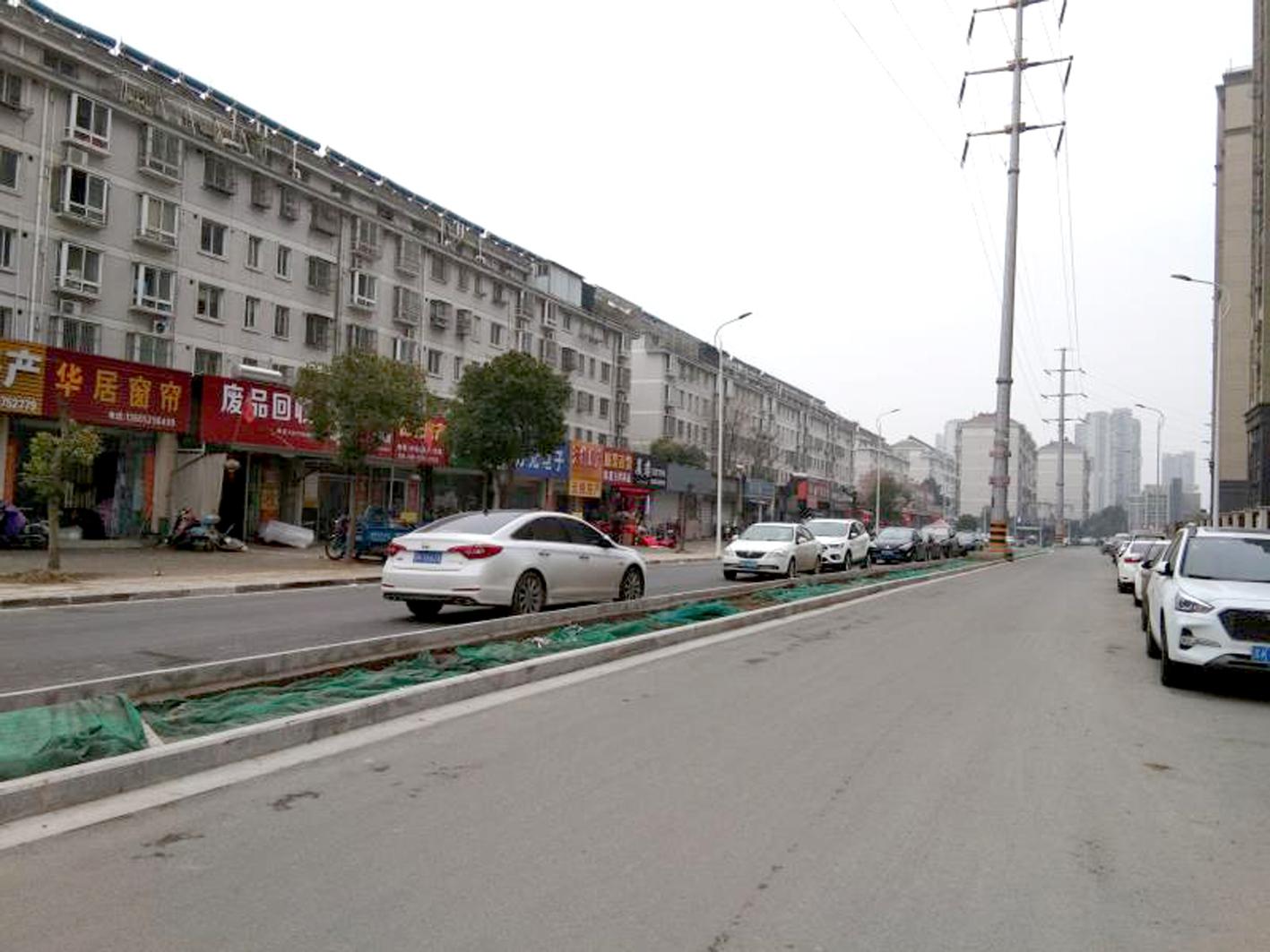 从7米拓宽至20米文峰佳苑南侧支路改造完工