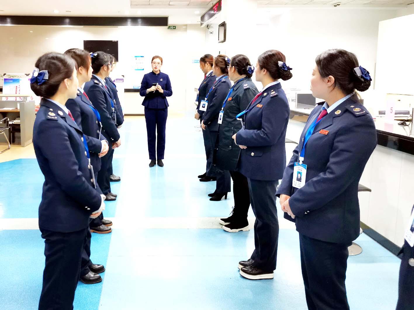 邗江税务局开展政务服务提升培训