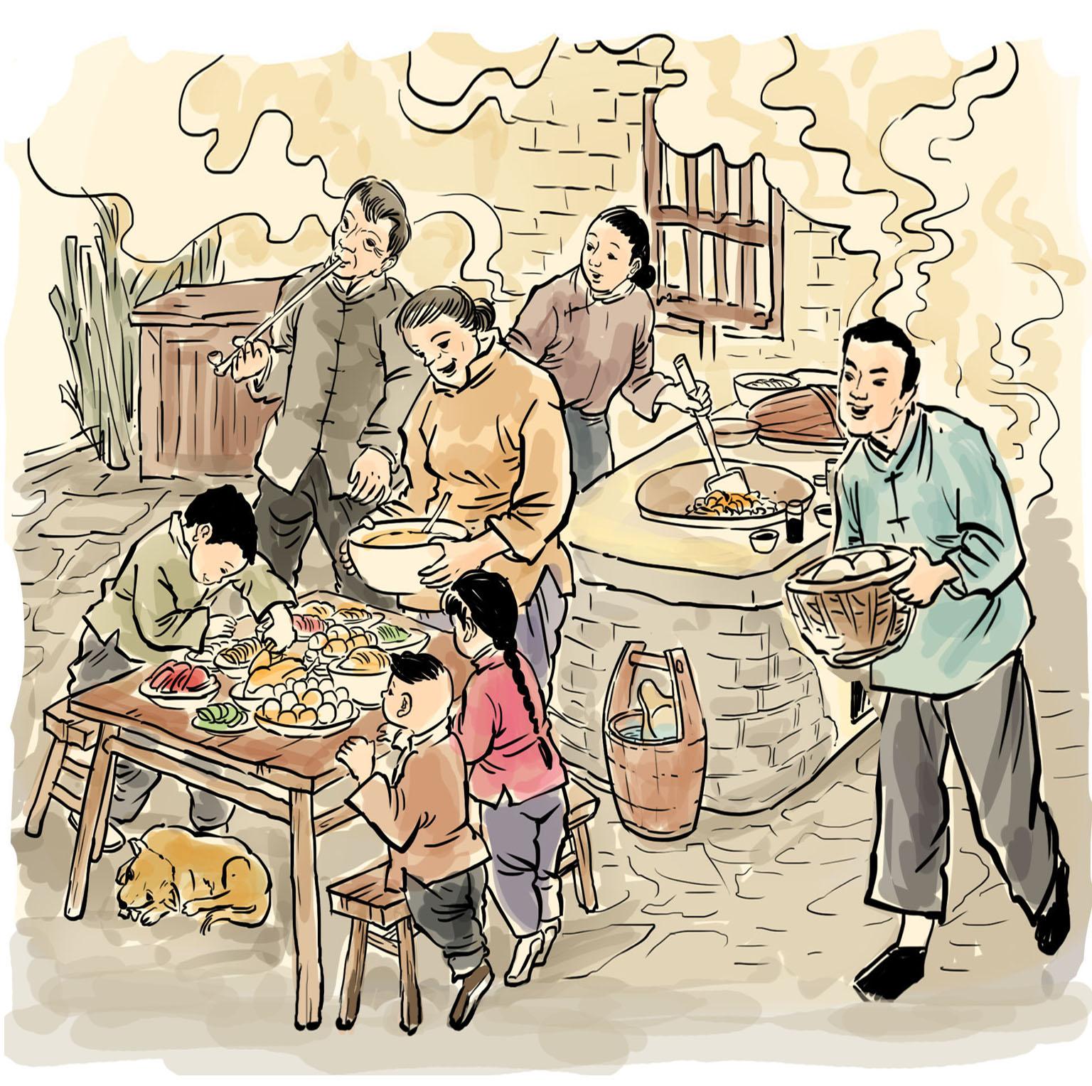图说老扬州:十香菜