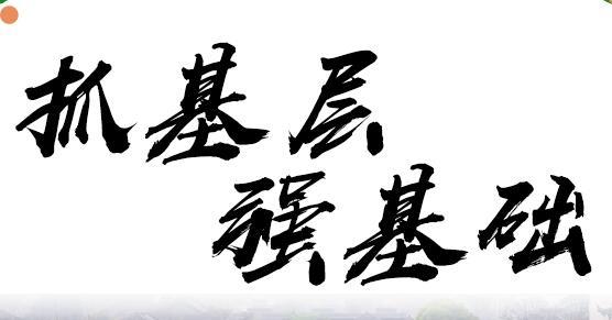 """【海报E评】筑牢基层""""底板"""" 建设万丈高楼"""