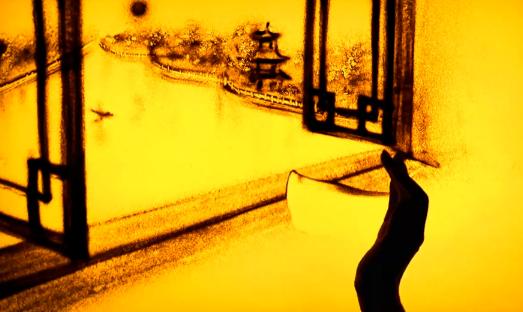"""沙画:寻味——""""世界美食之都""""扬州"""