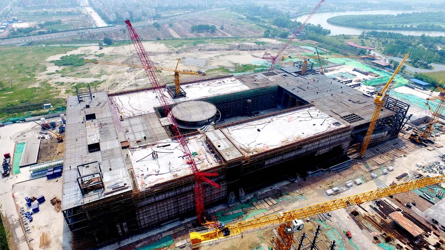 中国大运河博物馆建设忙