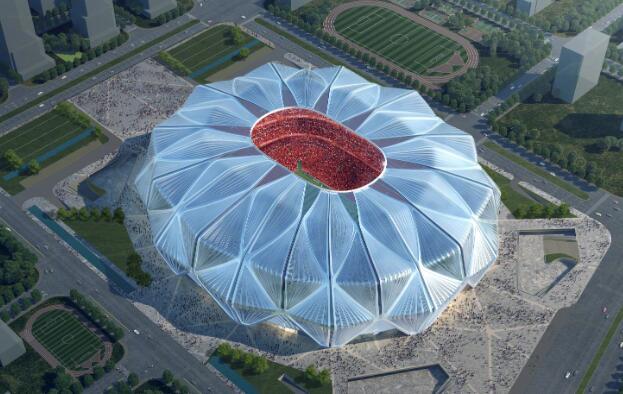真实颜值曝光 广州恒大足球场设计方案出炉