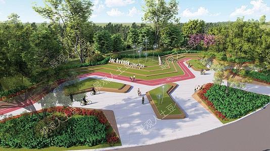 扬州天下口袋公园建成开放居民可家门口健身休闲