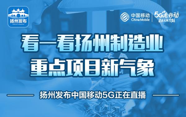 看一看扬州制造业重点项目新气象