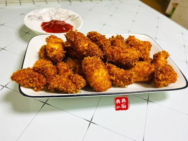 在家也能做出酥香可口的鸡米花美味又新鲜非常方便