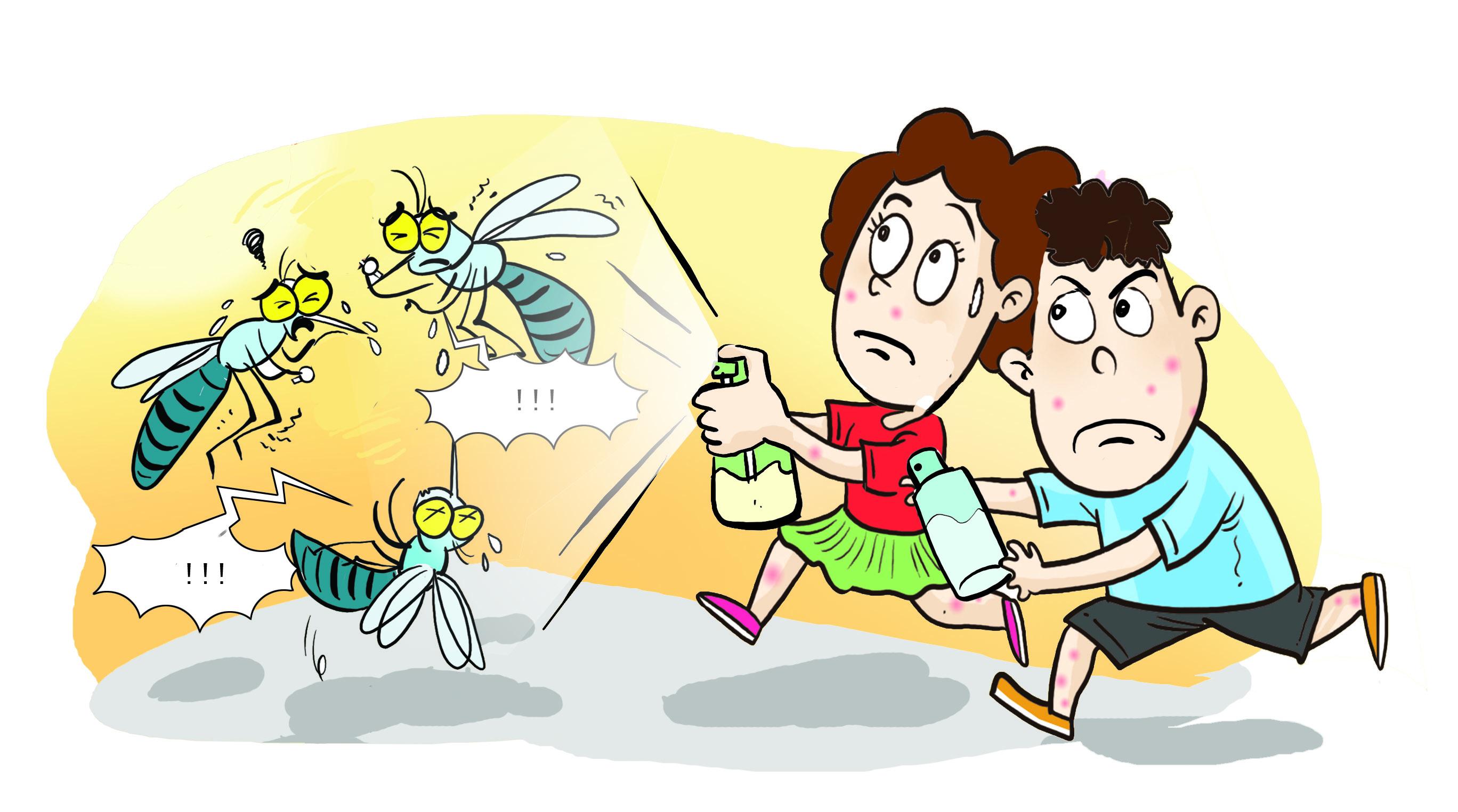 几分钟竟被蚊子咬了11口 居家灭蚊要这样做