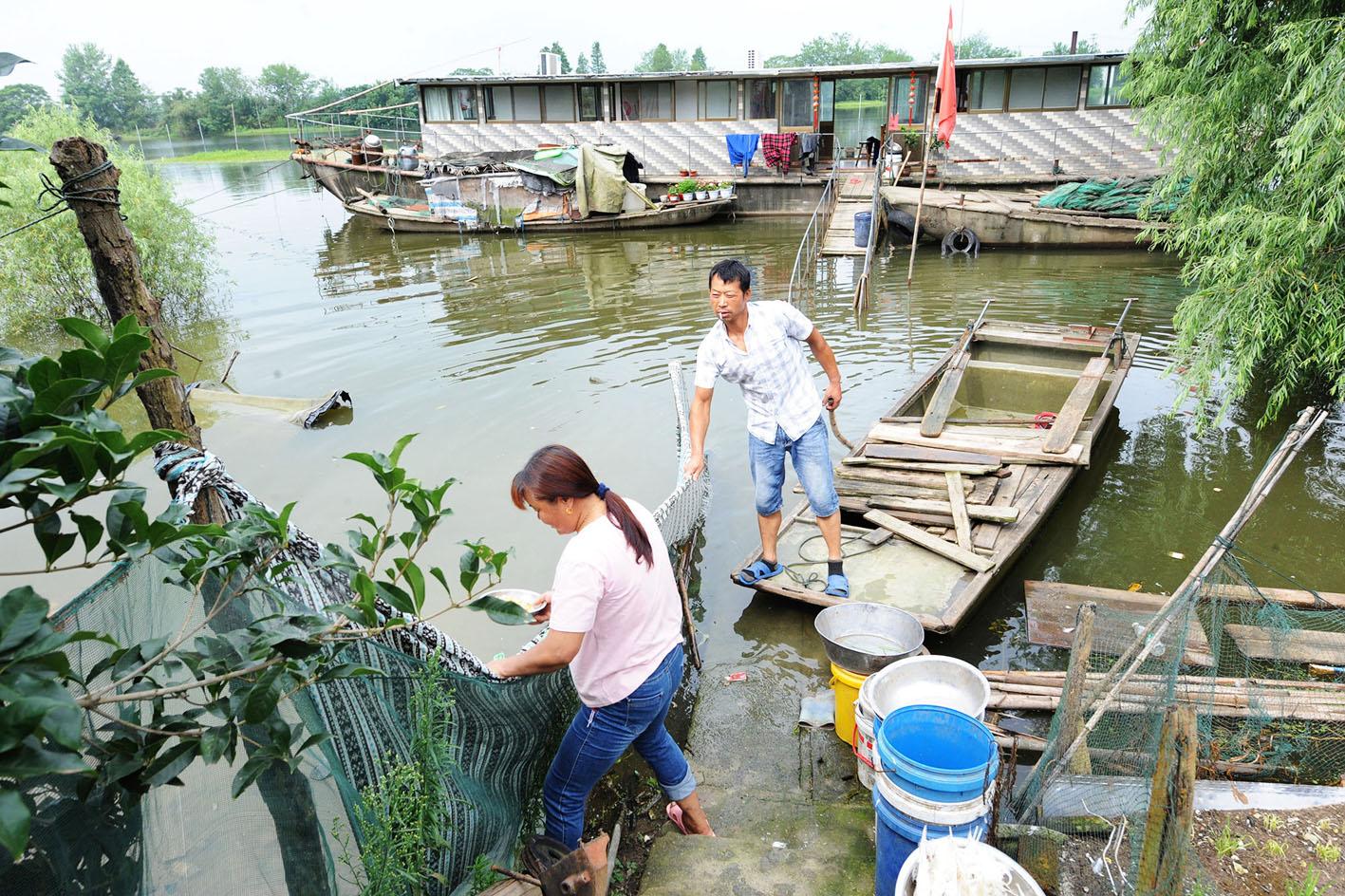 """扬州出台救助方案为退捕渔民基本生活""""兜底"""""""