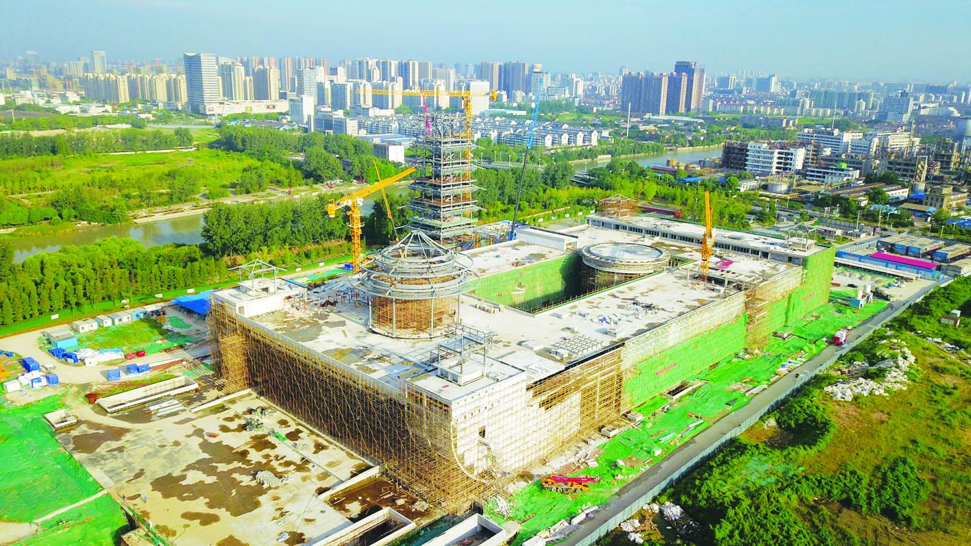 中国大运河博物馆初展雄姿