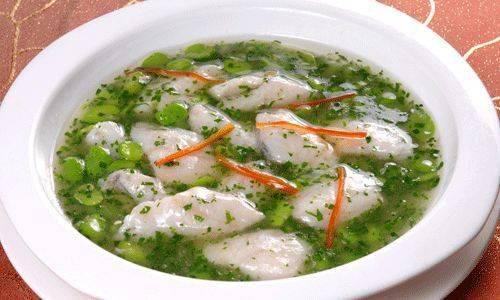 荠菜黄鱼羹的家常做法,鲜嫩美味,值得收藏!