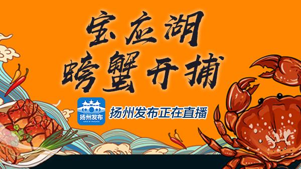 宝应湖螃蟹开捕仪式