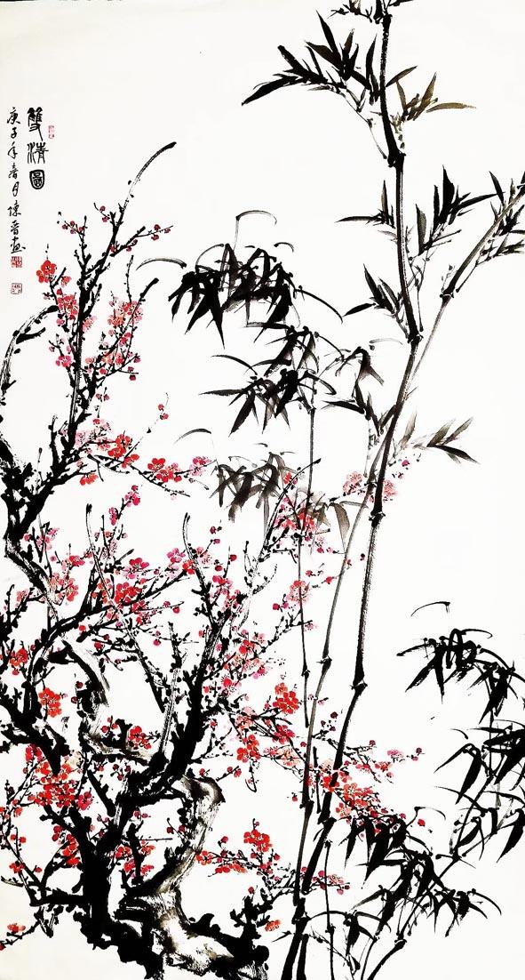 花香鸟语  生机盎然——花鸟画作来稿选登
