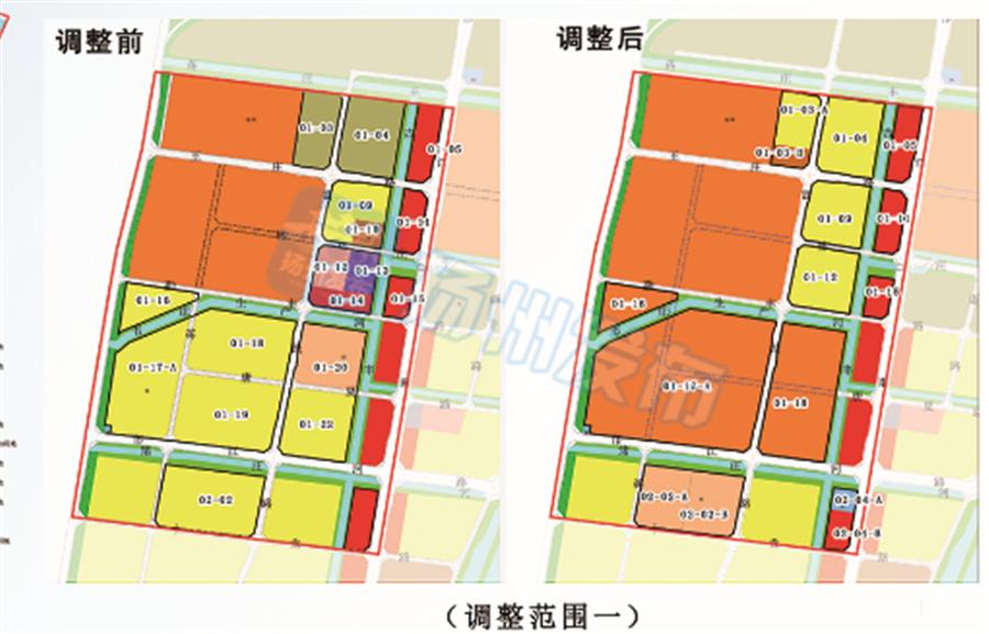 扬州这个片区控规有较大调整,正在公示
