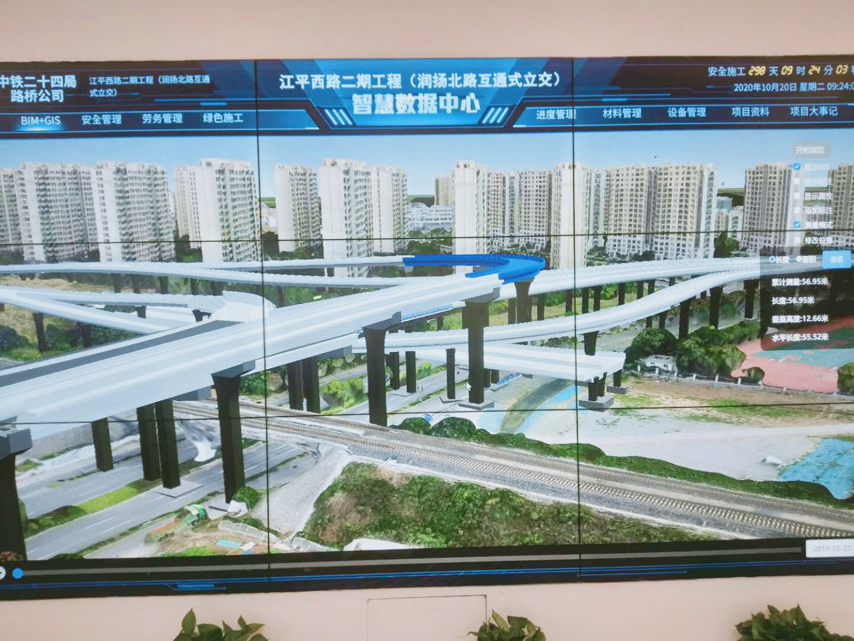 """扬州快速路建设用上""""新武器"""" 建立交桥就像搭积木"""