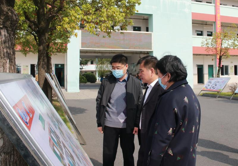 省政府督导组考察扬州高新区实验小学