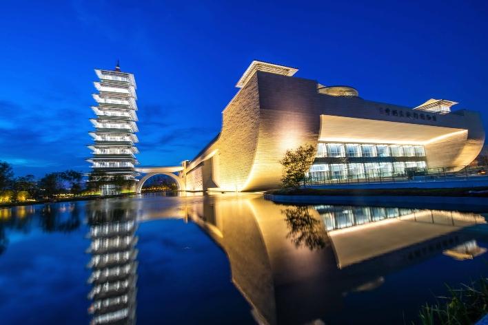 近千张图片记录扬州中国大运河博物馆