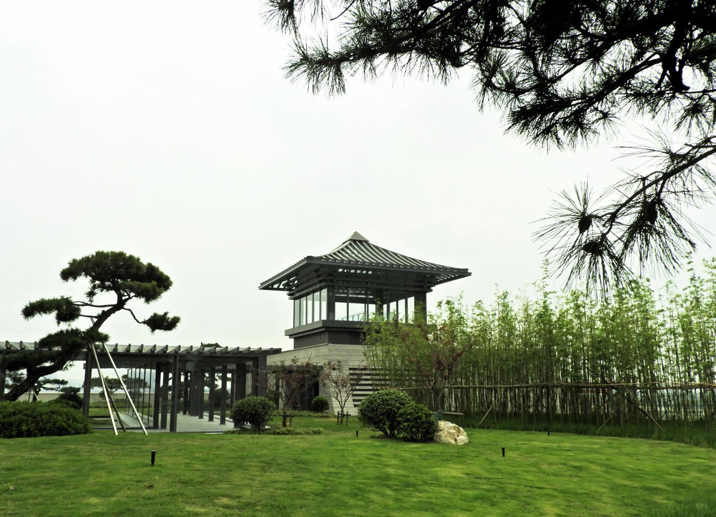 """扬州中国大运河博物馆顶上有个""""空中花园"""""""