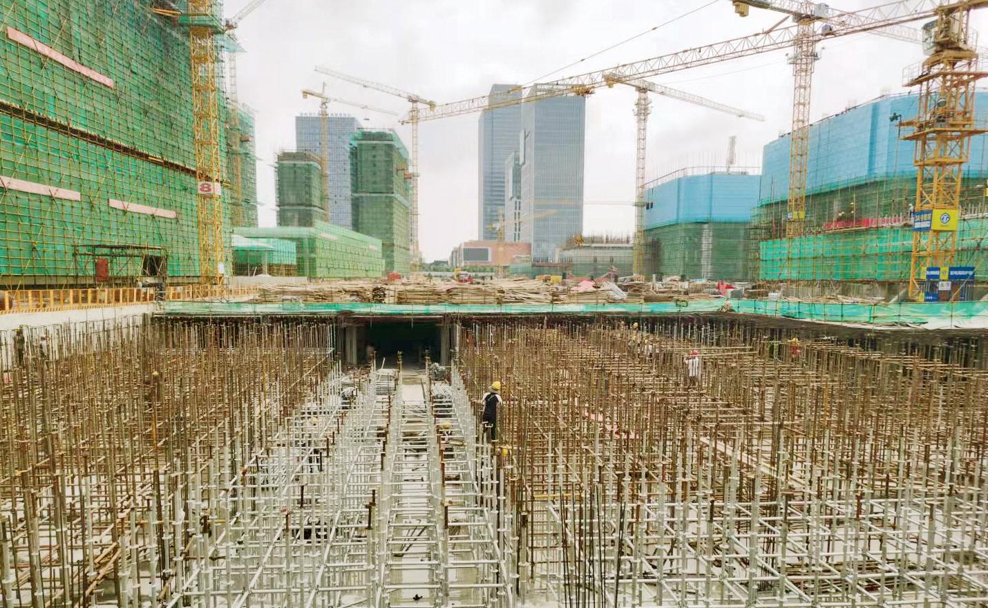广陵新城建工科技园项目建设平稳快速推进