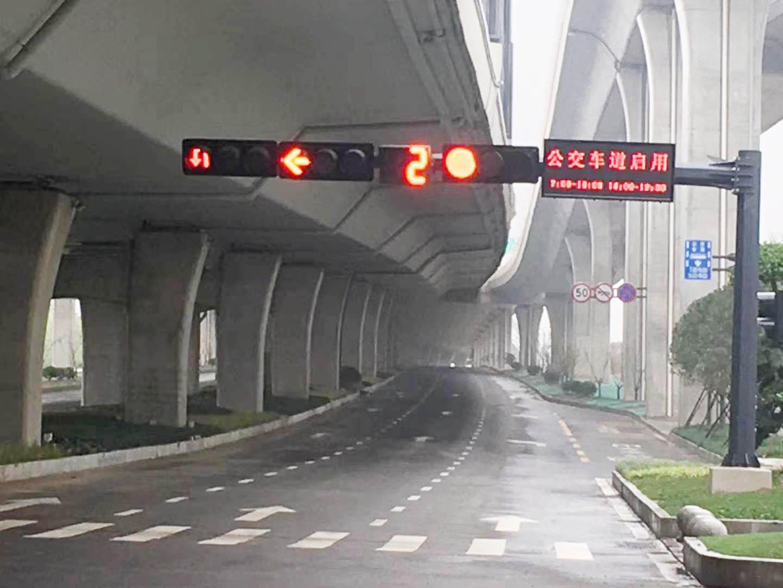 江平快速路公交车道已启用?公交还未通建设方将整改