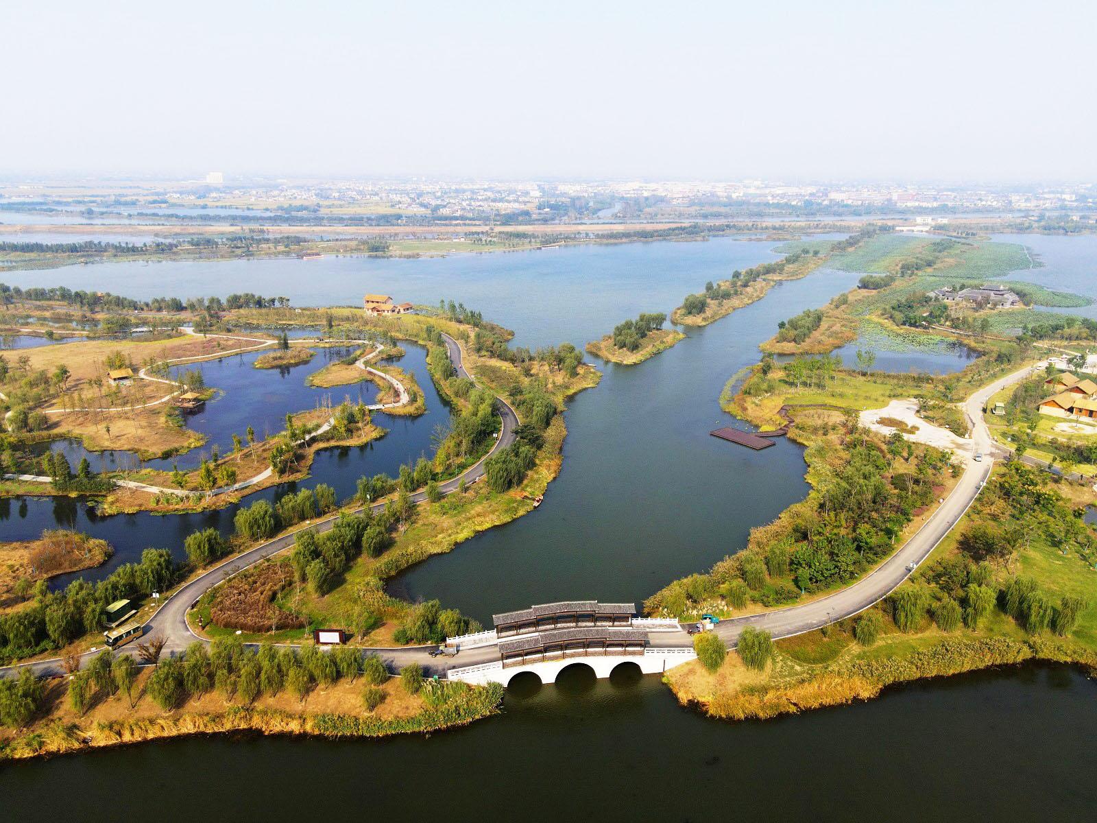 """北湖湿地公园迎""""国家级湿地公园""""验收评定"""